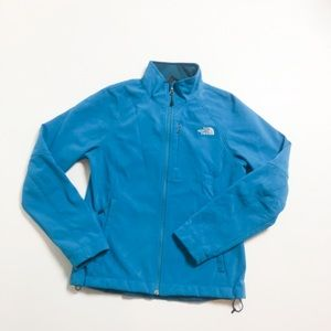 The North Face Full Zip Jacket Blue Medium